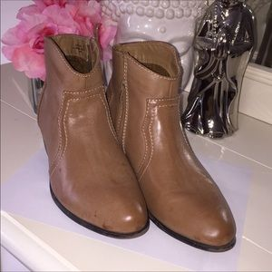 Shoes - Ankle booties tan / light brown size 8